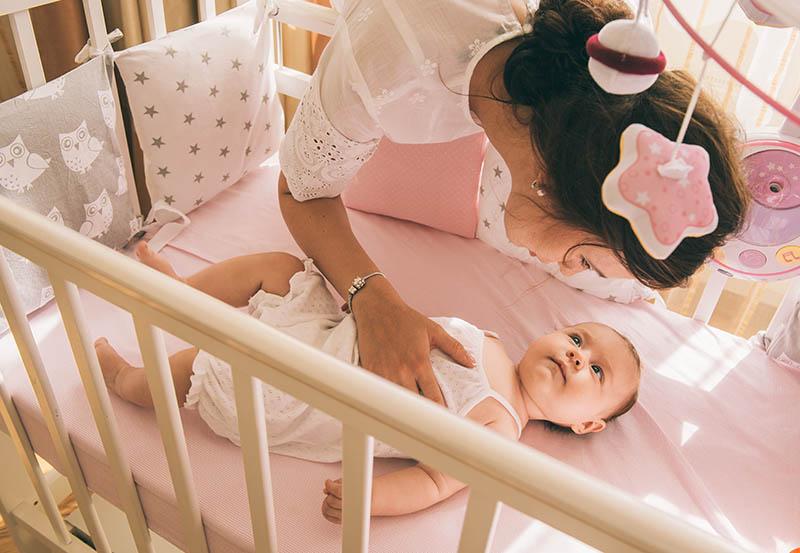 isico bij wiegendood groter bij kleinere baby
