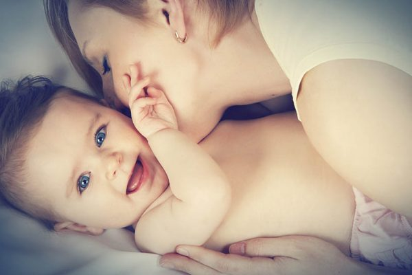 Een koortslip is gevaarlijk voor je baby