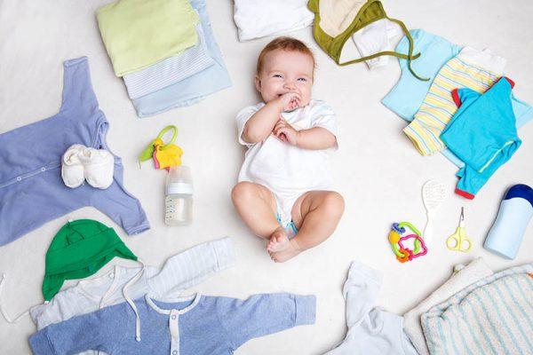 De baby uitzet wat heb je allemaal nodig