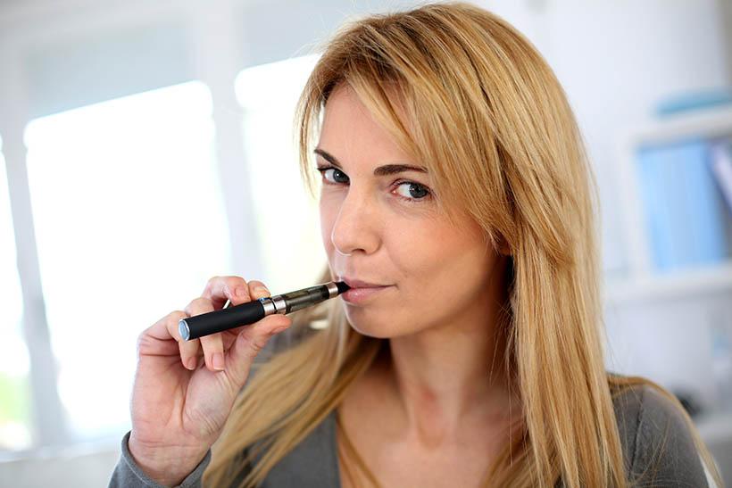 E sigaret tijdens de zwangerschap beter van niet