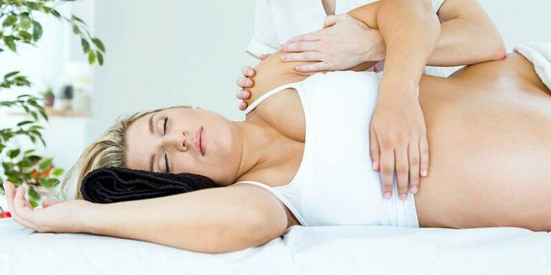 Zwangerschapsmassage fijn ontspannend en gezond